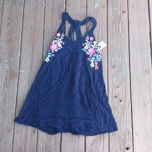 NWT My Michelle Navy Floral Dress